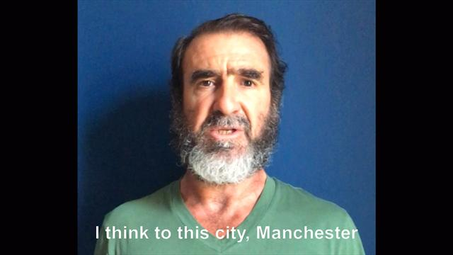 Eric Cantona: I suffer with you, my heart is with you Manchester