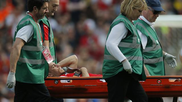 Gabriel to miss FA Cup final after being ruled out for eight weeks