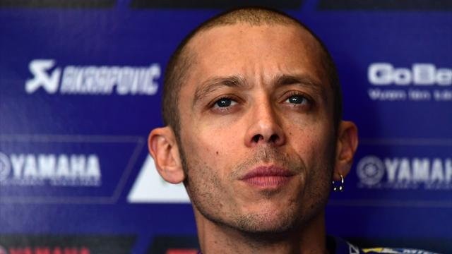 Rossi taken to hospital after motocross accident