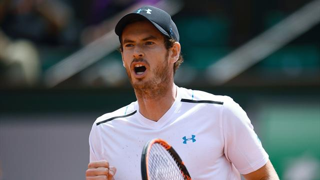 Andy Murray posts a reminder of his toughness in Paris