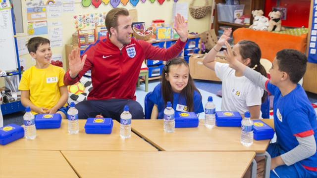Kane keen to show leadership for England