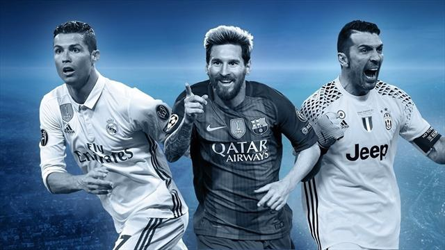 El equipo ideal de la Champions League 2016-17