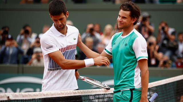 Dominic Thiem dumps second seed Novak Djokovic out of French Open