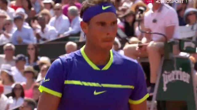 Nadal wins, Ostapenko claims first Grand Slam title