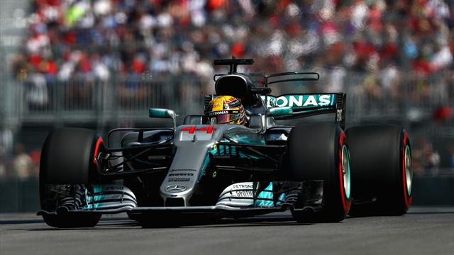 Hamilton wins in Montreal as Vettel finishes fourth after poor start