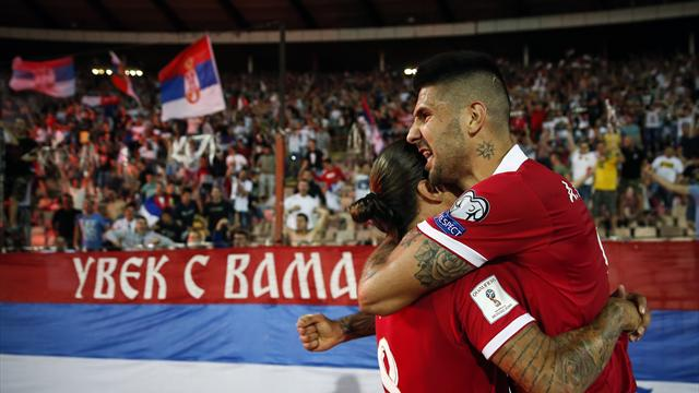 Serbia draw 1-1 with Wales in World Cup qualifier