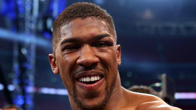Joshua ready to train despite no rival