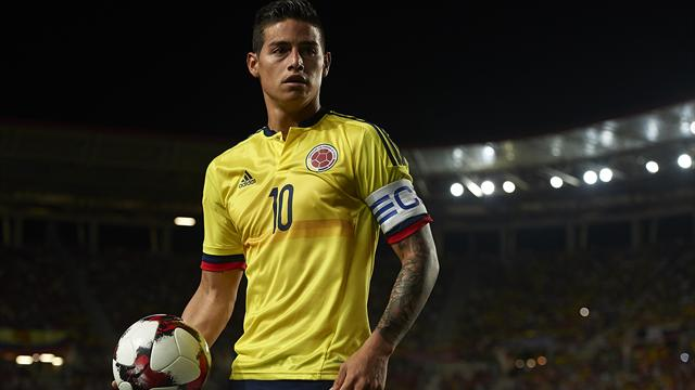 Colombia 11/20 to win against Cameroon in tonight's worldwide  friendly