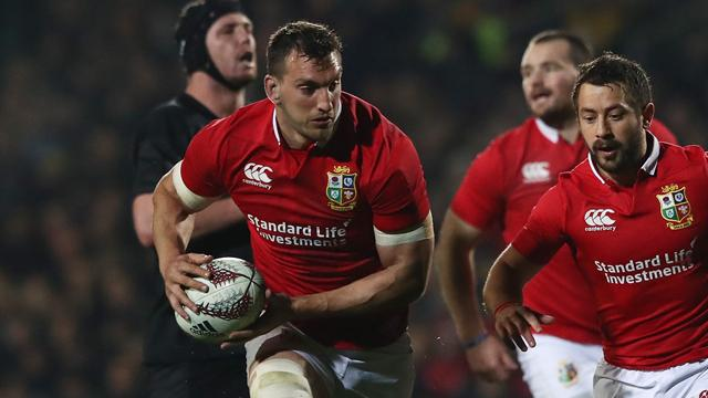 Lions captain Warburton starts second test