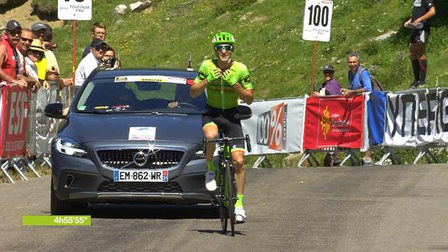 Pierre Rolland soloes to stage three win