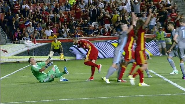Gli highlights Real Salt Lake-Minnesota United fc 1-0