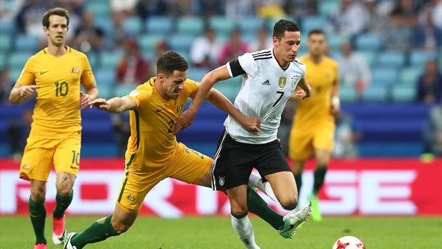 Germany clings on to beat Australia after keeper's blunders
