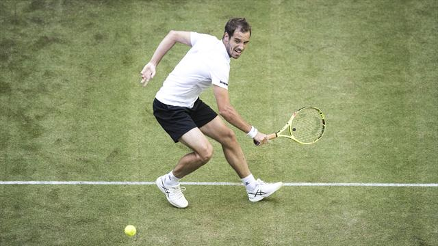 Richard Gasquet beats compatriot Gael Monfils in Halle