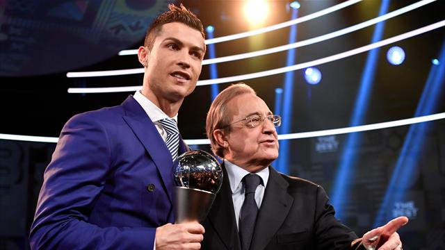 Real president Perez: 'I'm not contemplating Ronaldo leaving'