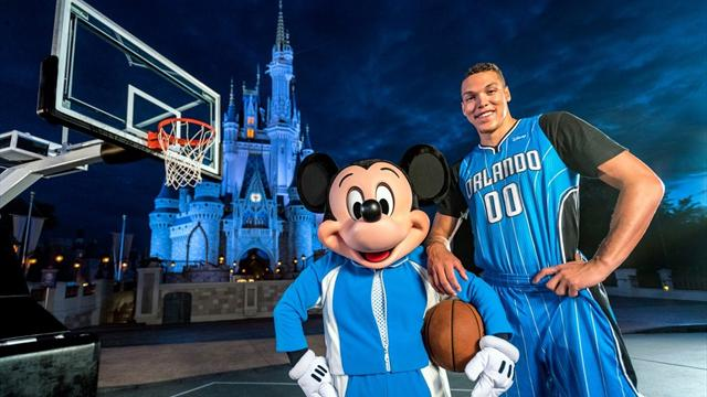Orlando Magic'in yeni sponsoru Mickey Mouse