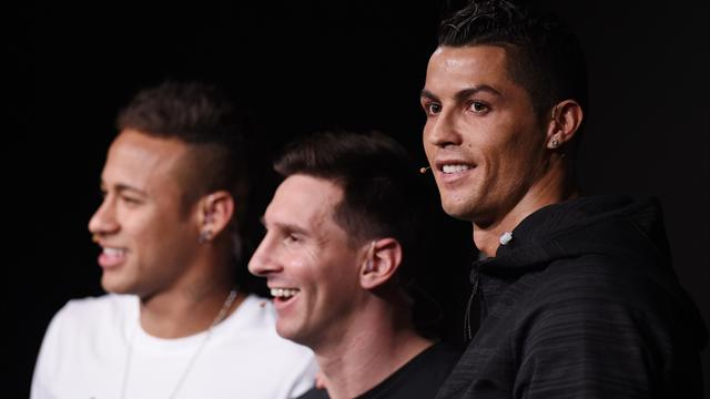 Cristiano Ronaldo motivated by success of Barcelona's Messi, Neymar