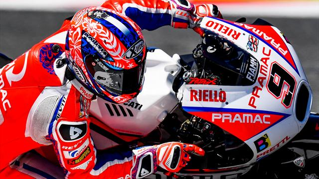 Petrucci: Traffic stopped me beating Rossi