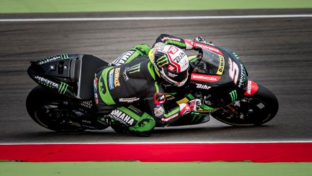 Zarco takes his first MotoGP pole in Assen