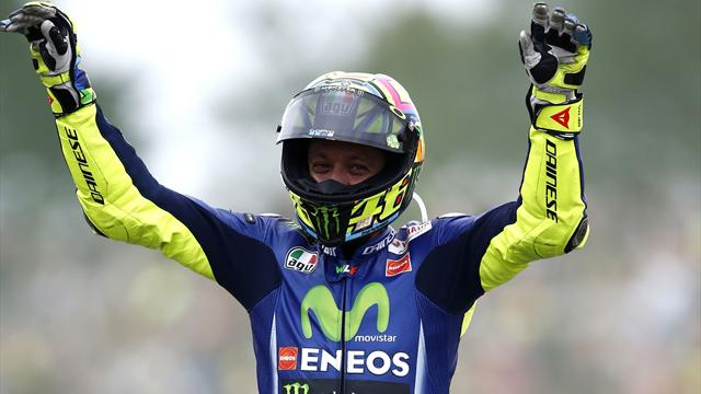 Rossi records 10th win at Assen with first victory of the season
