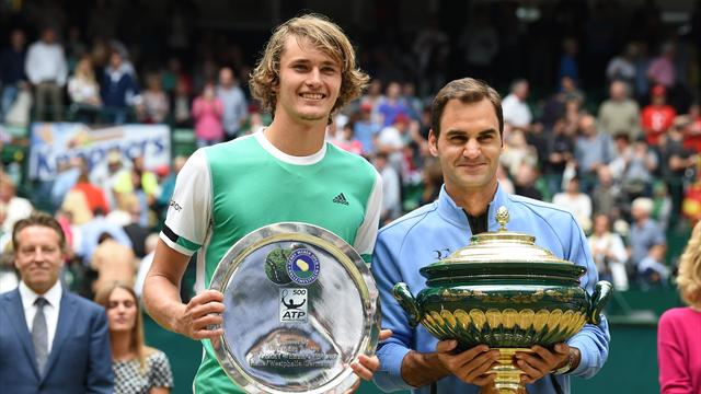 Zverev-Federer en bouquet final