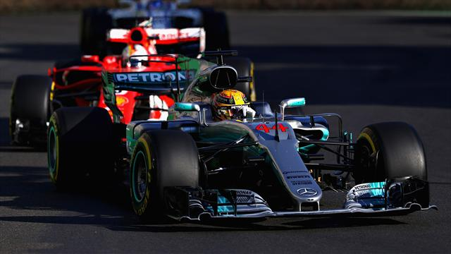 Azerbaijan F1 Grand Prix back underway after red flag