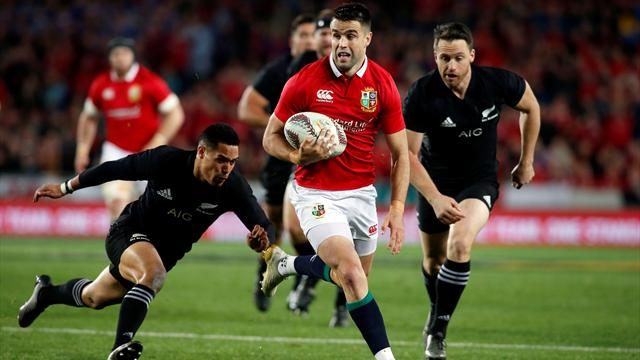Hansen rejects Gatland's 'desperate' claim All Blacks tried to injure Murray