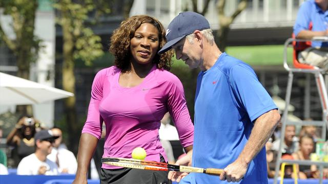 McEnroe: Williams sería
