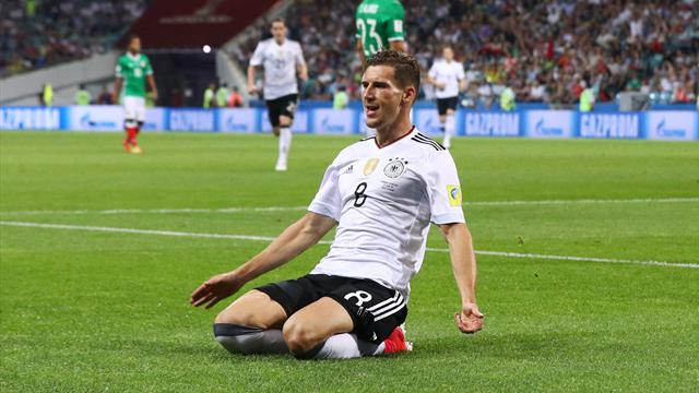 Germany cruise to final with 4-1 victory over Mexico