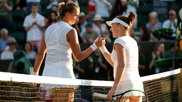 Petra Kvitova stunned at Wimbledon, as Johanna Konta wins