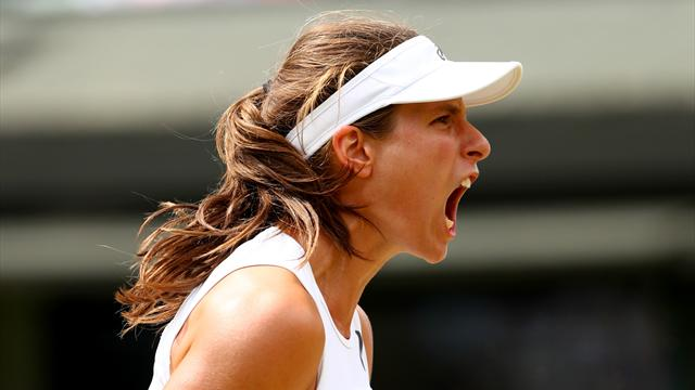 Konta makes history by beating Garcia to reach quarter-finals
