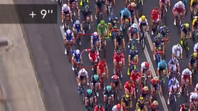 Kiwi cyclist Jack Bauer punched during heated Tour de France stage