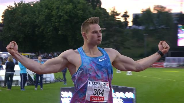 Johannes Vetter records fifth longest javelin throw of all time