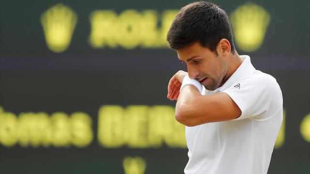 Djokovic advances past Mannarino to Wimbledon quarterfinals