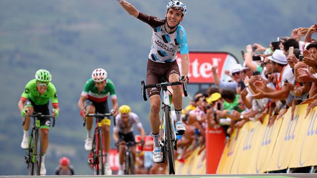 Tour de France - stage 12: Bardet victor, Aru yellow