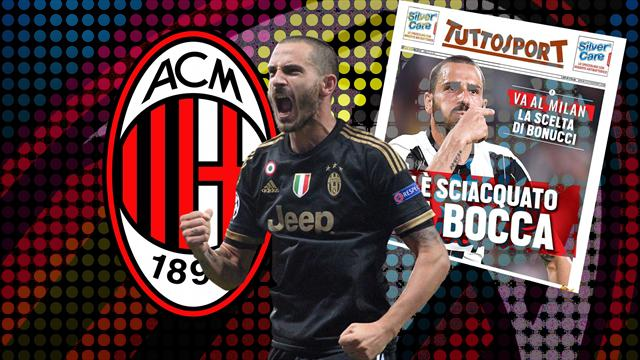 Euro Papers: Bonucci snubs Chelsea and Man City for shock move