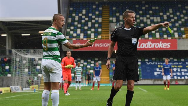 Uefa charge Linfield, Leigh Griffiths and Celtic after Champions League violence