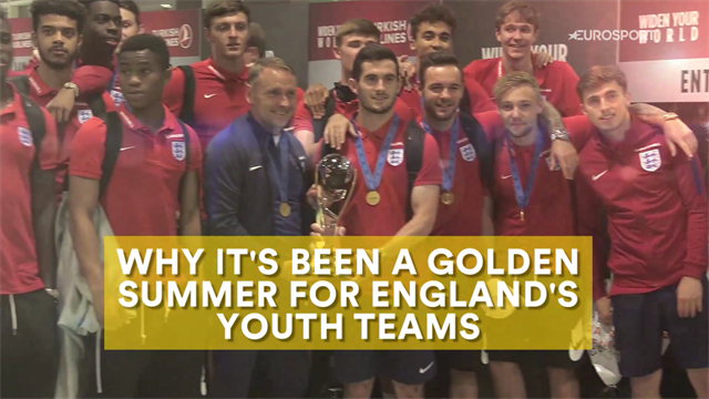 The boys of summer: England's amazing youth success in 2017