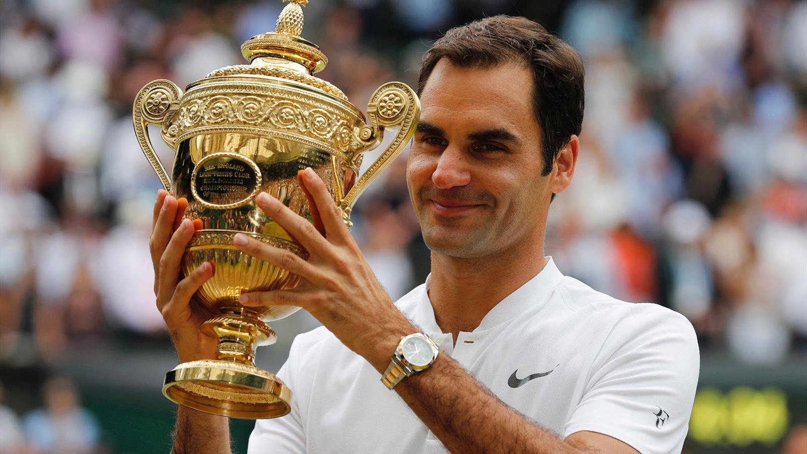 Record-breaking Roger Federer claims eighth Wimbledon title with crushing win over Marin Cilic ...