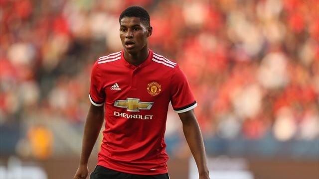 Rashford, Martial start against Burton, Shaw joins Lukaku on bench