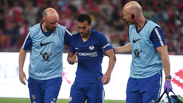 Pedro travels home after suffering concussion