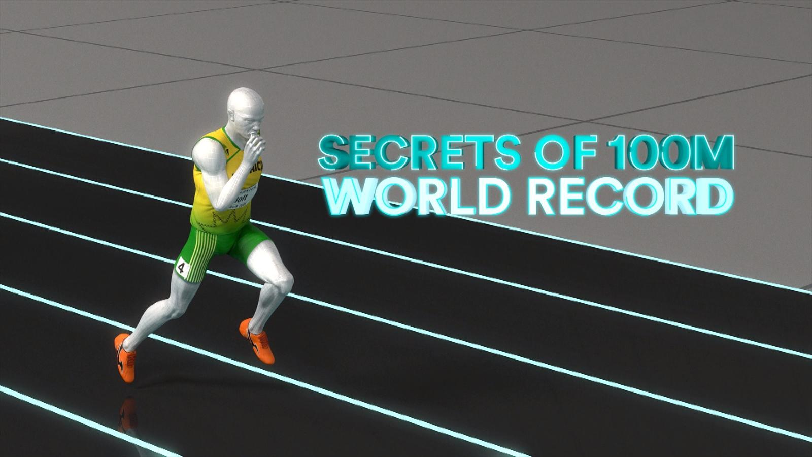 VIDEO - Sports Explainer: How Usain Bolt smashed the 100m world record - World Championships ...
