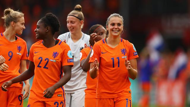 Netherlands women reach Euro semi-finals