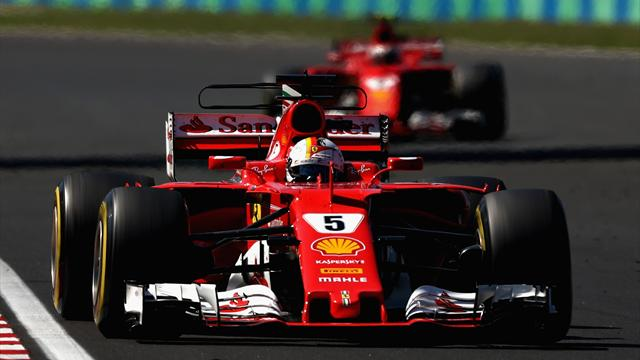 Vettel wins in Hungary amid team orders controversy