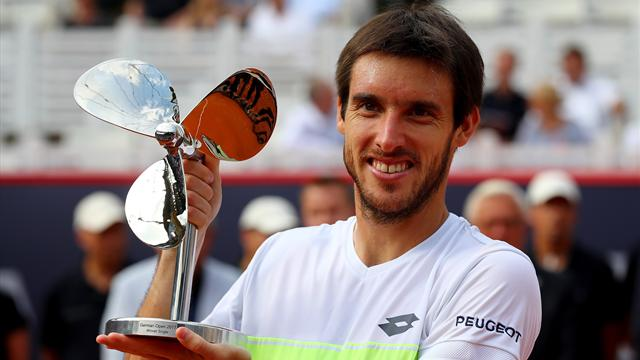 Leonardo Mayer, ce lucky winner