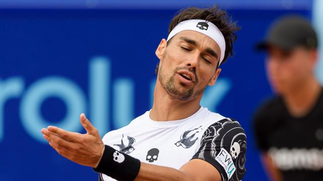 Fognini hit with suspended two-Slam ban