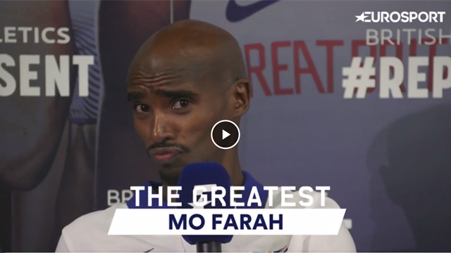 GOAT: Mo Farah on Usain Bolt, Oasis and Denzel Washington....