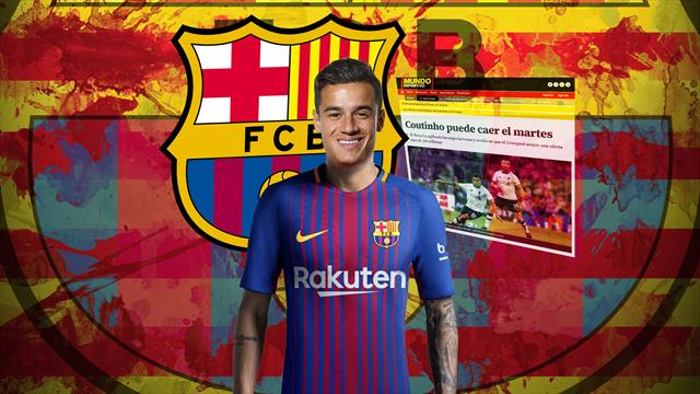 Euro Papers: Coutinho shock! Liverpool accept £90m offer