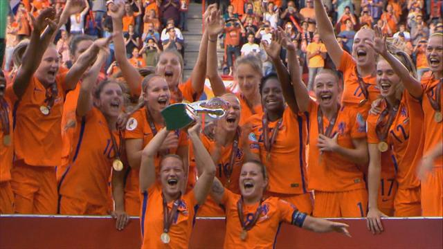 Highlights: Netherlands turn on style to defeat Denmark in final