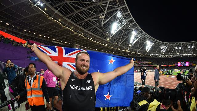 Athletics: New Zealand's Walsh follows in Adams footsteps