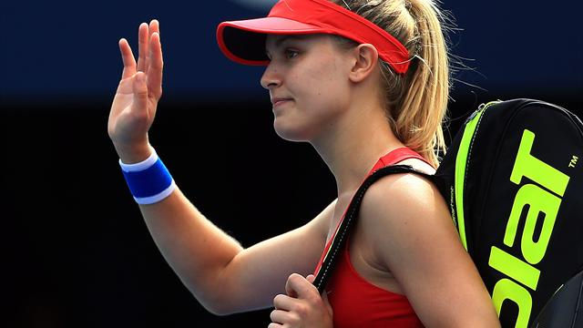 Canada's Bouchard ousted in first round of home tournament